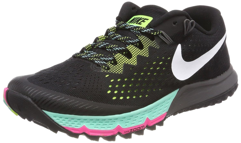 Nike Air Zoom Terra Kiger 4, Zapatillas de Running para Hombre 42.5 EU|Negro (Negro / Blanco / Voltio / Hyper Turquesa 001)