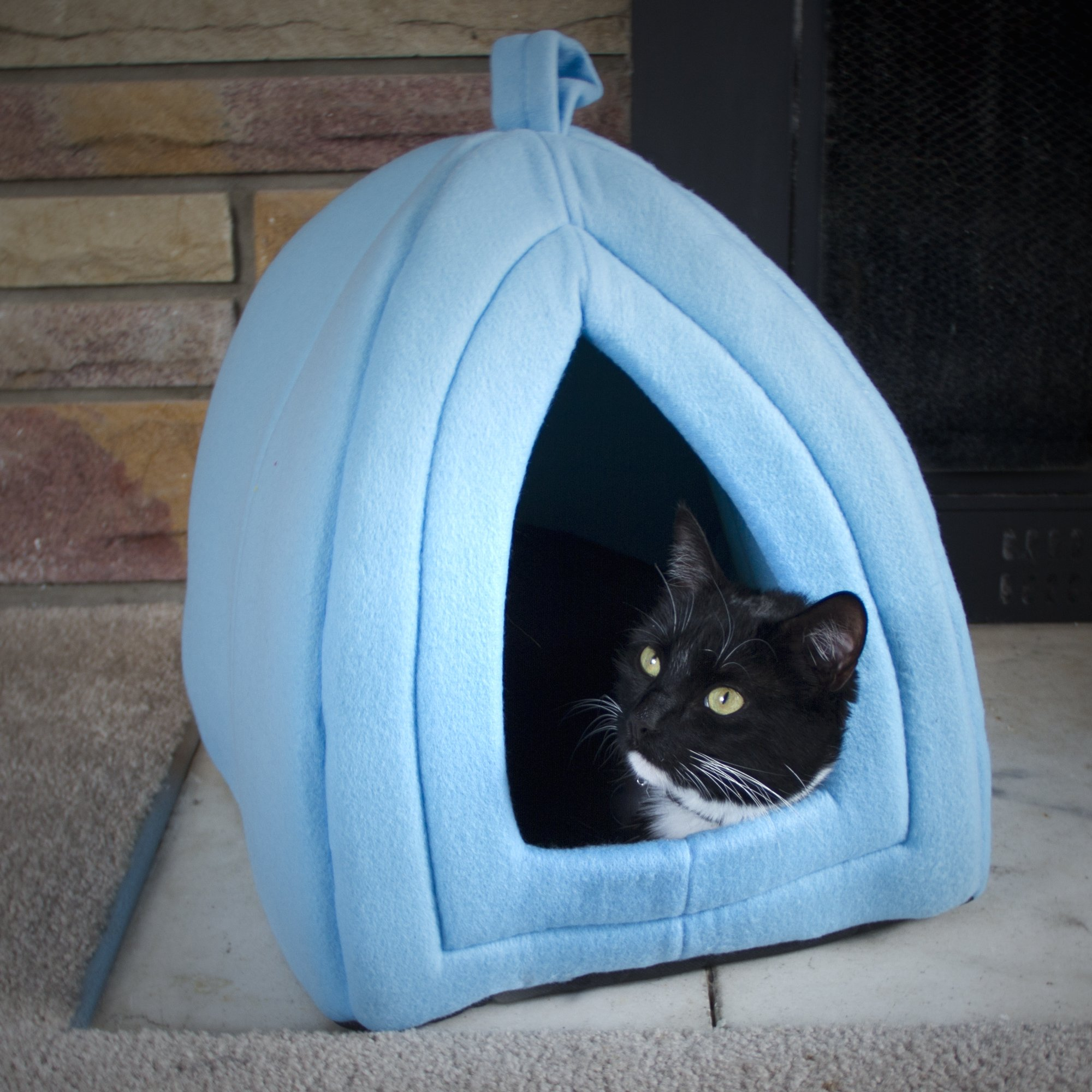 PAW Cozy Kitty Tent Igloo Blue