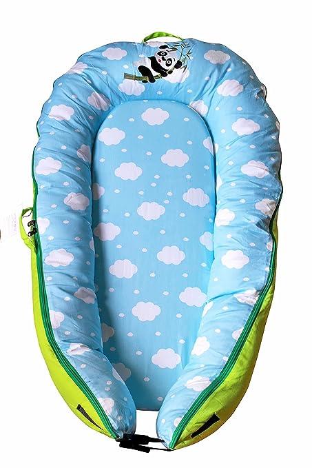 Panda - Saco de dormir para bebé de 0 a 6 meses, (lavable,