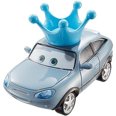 Disney Pixar Cars Darla Vanderson Die-Cast Vehicle, King's Fan with Crown: Toys & Games