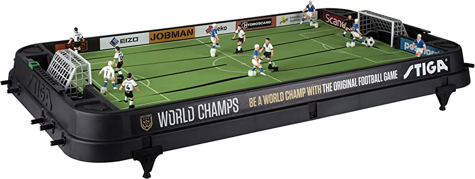 Stiga Football Game World Champs England/Germany Black Juego de ...