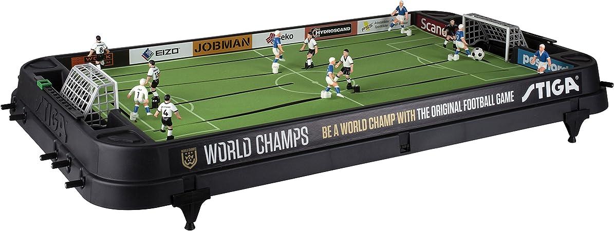Stiga Football Game World Champs England/Germany Black Juego de ...