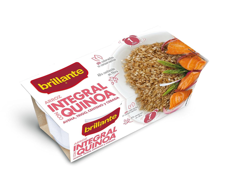 Arroz integral con Quinoa, Avena, Trigo, Centeno y Cebada. 2 x 125 gr.: Amazon.es: Alimentación y bebidas