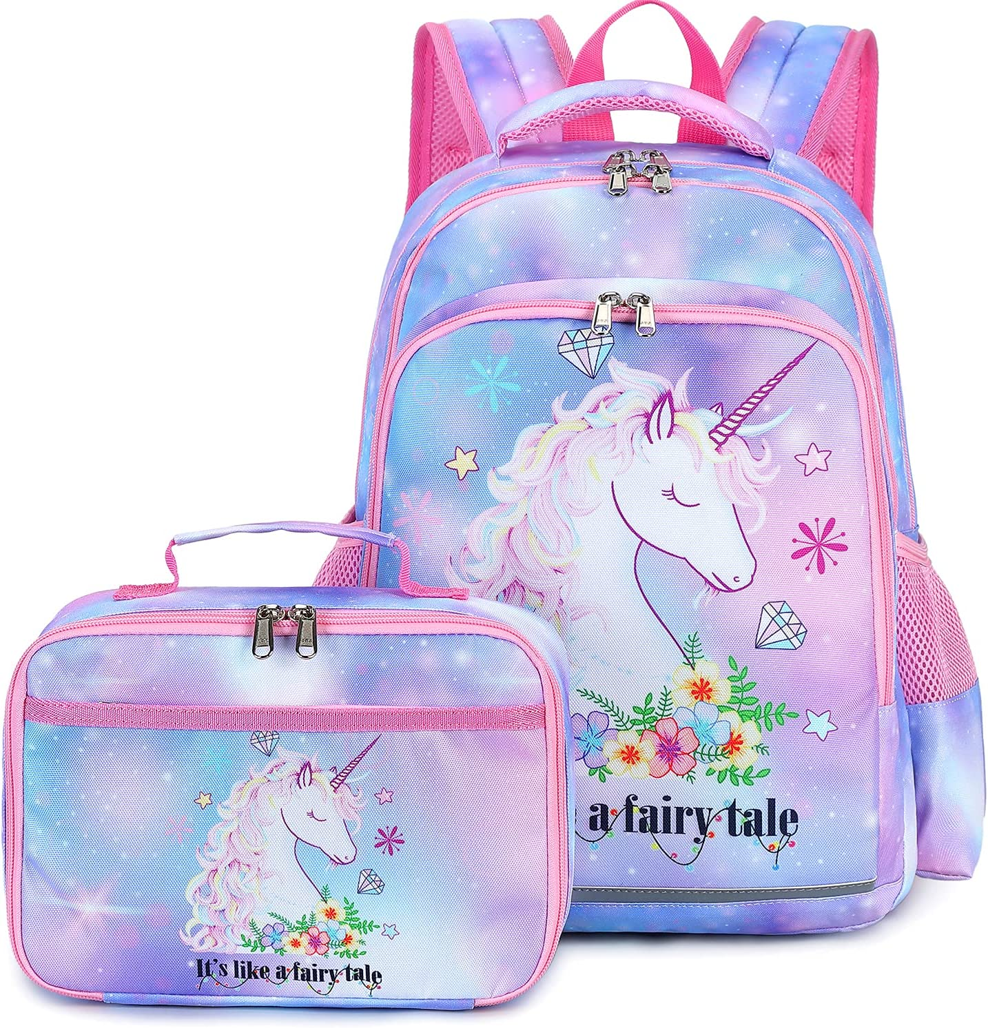 Kids School Backpack with Lunch Ranking TOP18 Box Some reservation Bag Girls Bookbag for