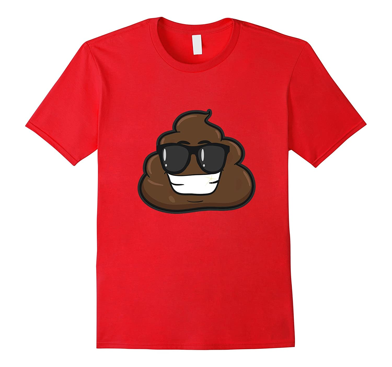 Novelty- Emoji Poop Shirts - Funny Cool Tshirts