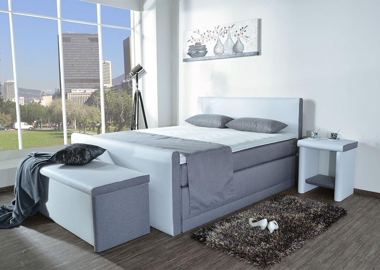 boxspringbett amos bt auch mit bettkasten oder elektrisch. Black Bedroom Furniture Sets. Home Design Ideas