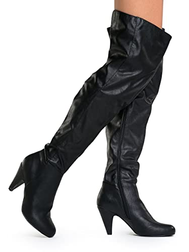 Amazon.com | Hot Fashion Method 01 Women's Boots Over the Knee ...