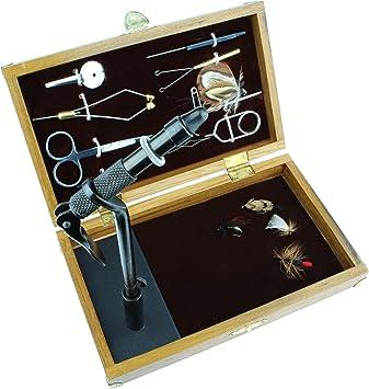 Royale Fliegenbinden Schraubstock und 14/Werkzeuge