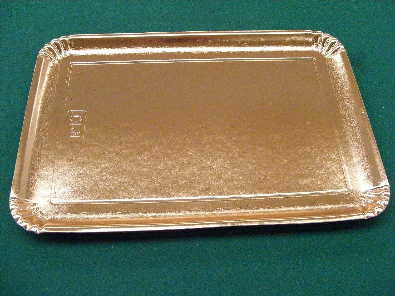 Bandejas Oro Mis.35 x 48 cartón kg.10 alimentos Pastelería Pizza Pasta Horno: Amazon.es: Industria, empresas y ciencia