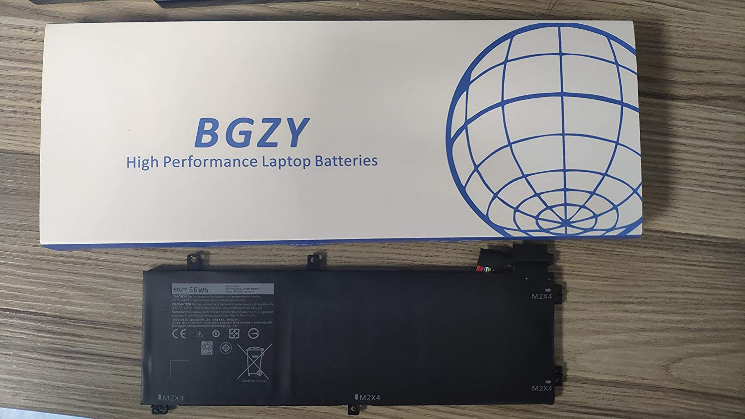 BGZY New RRCGW Replacement Laptop Battery Compatible with Dell XPS 15 9550 Precision 5510 RRCGW M7R96 62MJV (11.4V 56Wh)