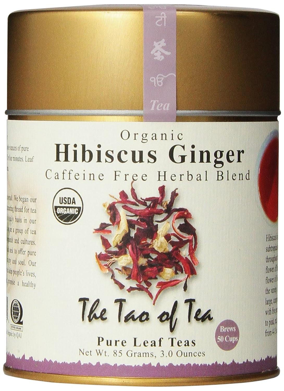 Blend gourmet herbal tea - Amazon Com The Tao Of Tea Hibiscus Ginger Tea Loose Leaf 3 0 Ounce Tin Herbal Teas Grocery Gourmet Food