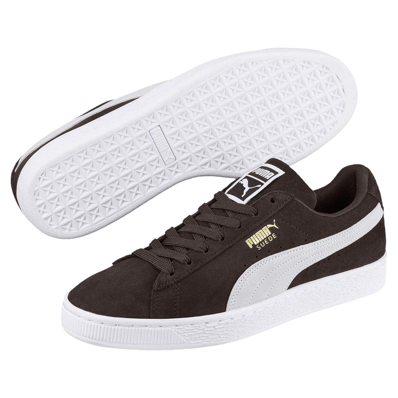 Puma Unisex-Erwachsene Suede Classic Sneaker, Mol- Weiß- Weiß