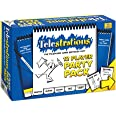 USAopoly Telestrations Party Pack 12 Player | 600 New Phrases to Sketch | Family Board Game | A Fun Family Game for Kids and