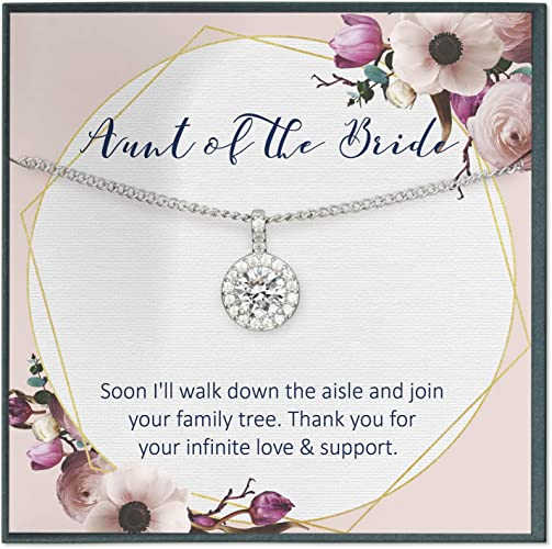 Muse Infinite Daughter in Law Gift from Mother in Law to Bride Gift Wedding Gift Necklace Gift from Mother of Groom