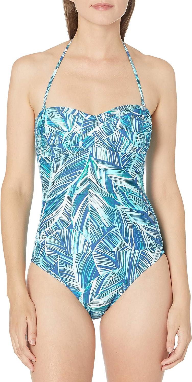Choose SZ//color Details about  /La Blanca Women/'s Bandeau Midkini Bikini Swimsuit