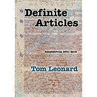 Definite Articles: Selected Prose 1973-2012
