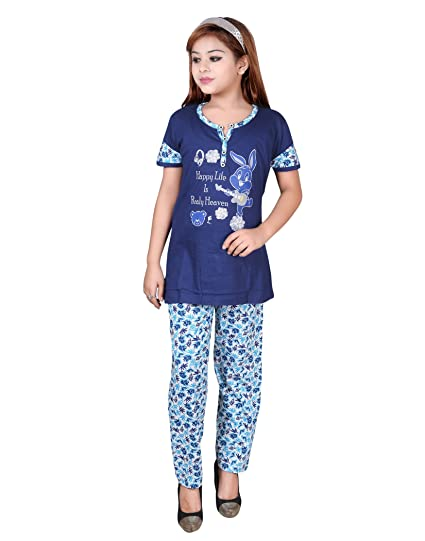 56266b246 Sah Girls Cotton Pyjama S Set Kids Night Dress Girls Night Dress