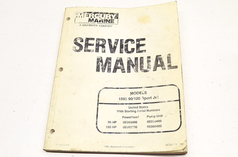 Amazon.com: Mercury 90-828455 Mercury 1995 90/120 Sport Jet Service Manual  QTY 1: Automotive