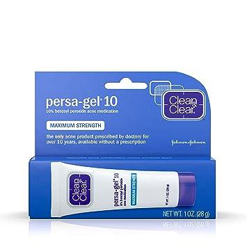 4 Pack Clean & Clear, Persa-Gel 10 Acne Medication Treatments, Maximum Strength 0.1 oz Each Clarins Hydra-Essentiel Intensive Moisture Quenching Bi-phase Serum 1 oz