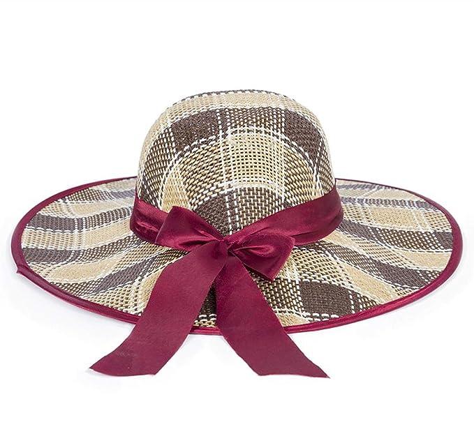 3b7d3fbdc856d Straw Hats Ladies Sunshade Sun Hat Beach Hats Straw Hats Spots Big ...