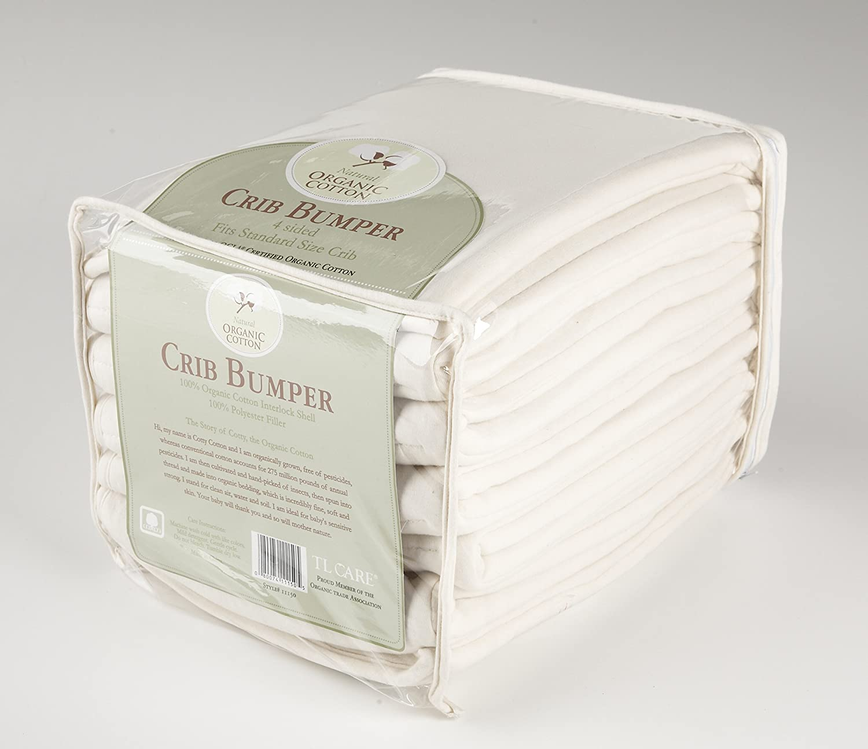 amazoncom  tl care organic crib bumper natural  baby -