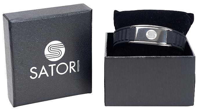 Amazon.com: SATORI 4 en 1 banda de iones negativos, germanio ...