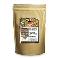 Nurafit BIO Weizengraspulver | Made in Germany | 250g/0.25kg zertifizierte Spitzenqualität | Green-Smoothie Powder | Mit vielen Vitaminen, Mineralstoffen und Spurenelementen