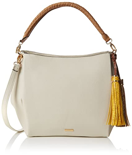 Aldo Women s Lowell Shoulder Bag Off-White - Bone  Amazon.in  Shoes ... 8dae312b9783d