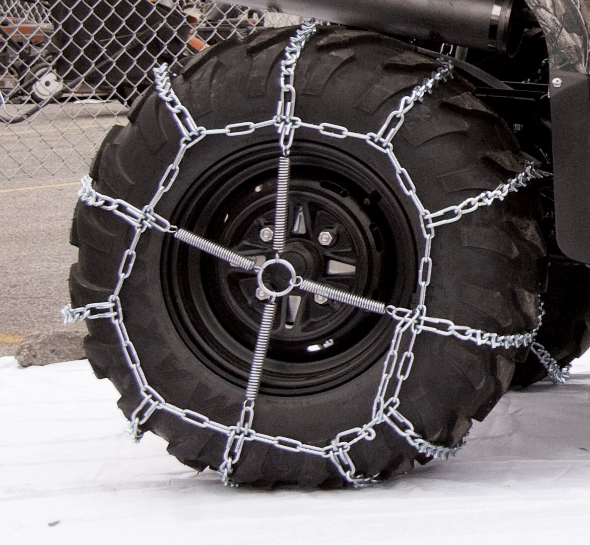 Security Chain Company 1064756 ATV Trac V-Bar Tire Traction Chain by Security Chain (Image #2)