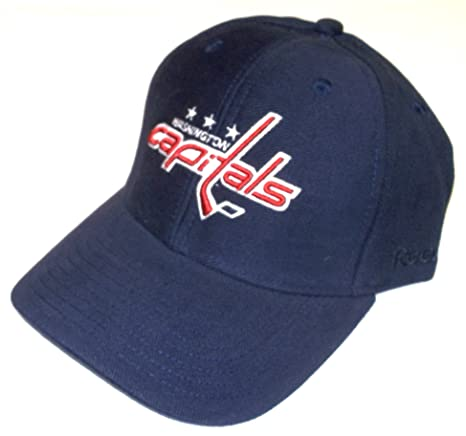 2e5d6a8e558 Image Unavailable. Image not available for. Color  Reebok Washington  Capitals Structured Adjustable Hat - OSFA