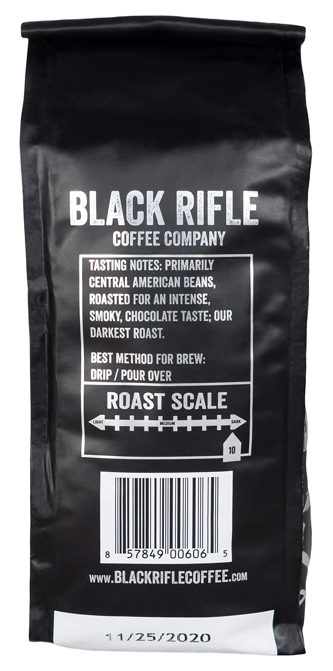 Black Rifle Coffee Company Murdered Out Coffee Dark Roast Ground, 12 Ounce Bag by Black Rifle Coffee Company (Image #3)