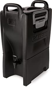 Carlisle IT50003 Cateraide IT Insulated Beverage Server / Dispenser, 5 Gallon, Onyx