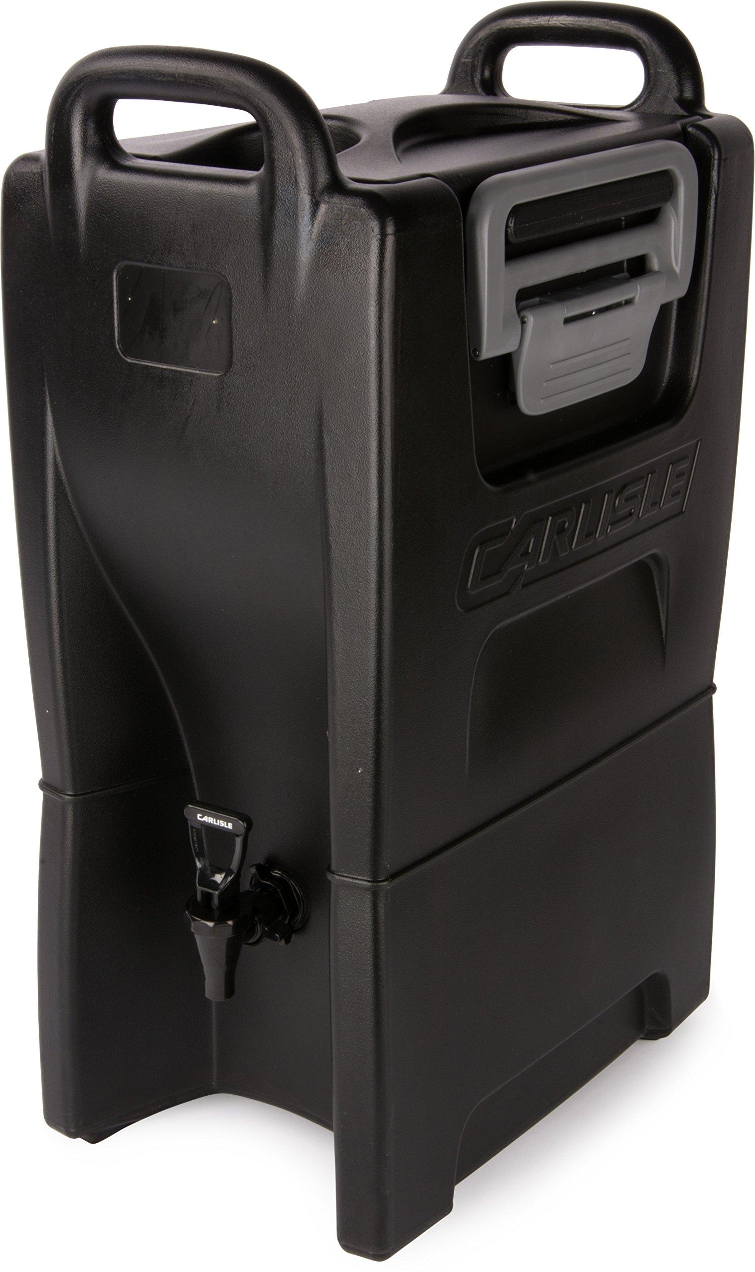 Carlisle IT50003 Cateraide IT Insulated Beverage Server / Dispenser, 5 Gallon, Onyx