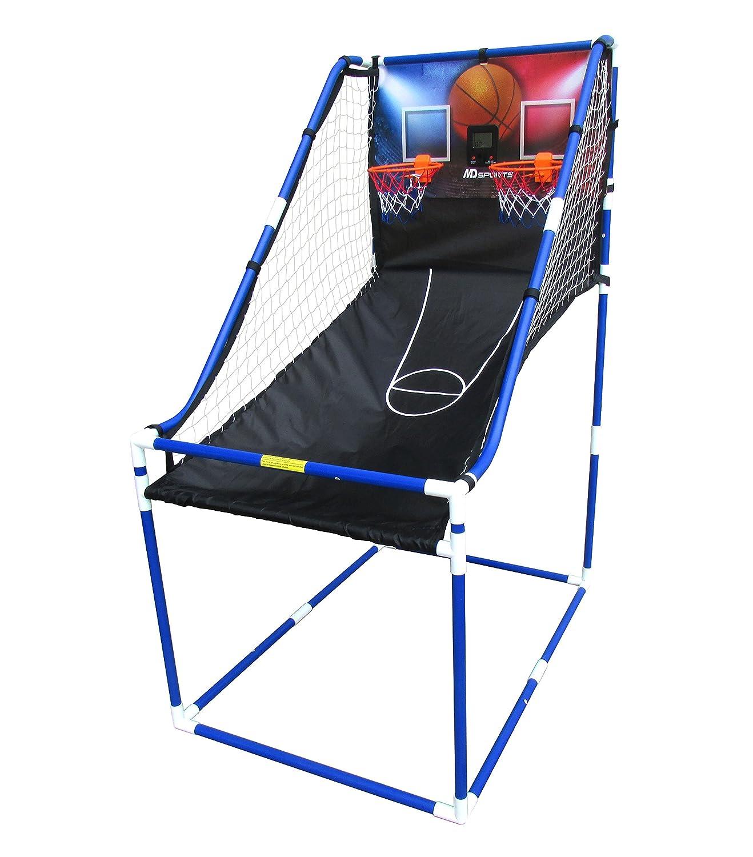 Image of a portable Basketball hoop for boys