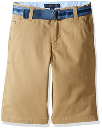 Fashionable Cheap Online Quality Original Belted Cotton Twill Shorts - Sales Up to -50% Tommy Hilfiger Shop For Sale Online New Styles Cheap Online Store Cheap Price Z5B4Zuh