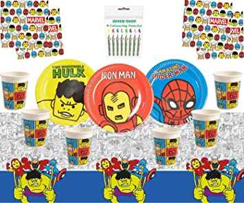 Avengers Pop Comic Party Avengers Party Supplies Niños ...