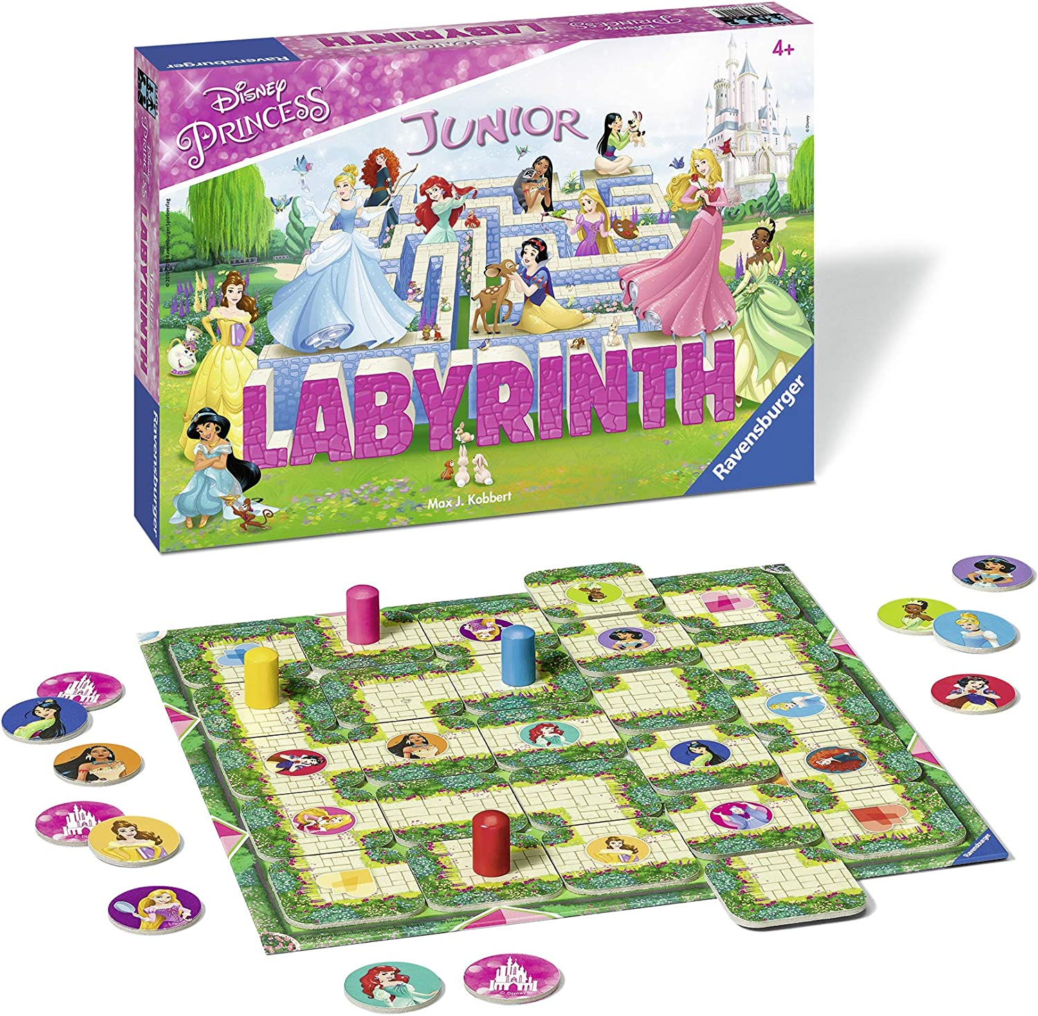 Ravensburger - Labyrinth Junior Disney Princess (21449): Amazon.es: Juguetes y juegos