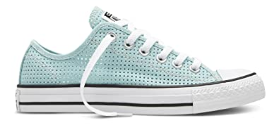 Converse Chuck Taylor All Star C551623, Baskets Basses Femme, Bleu (Motel  Pool/