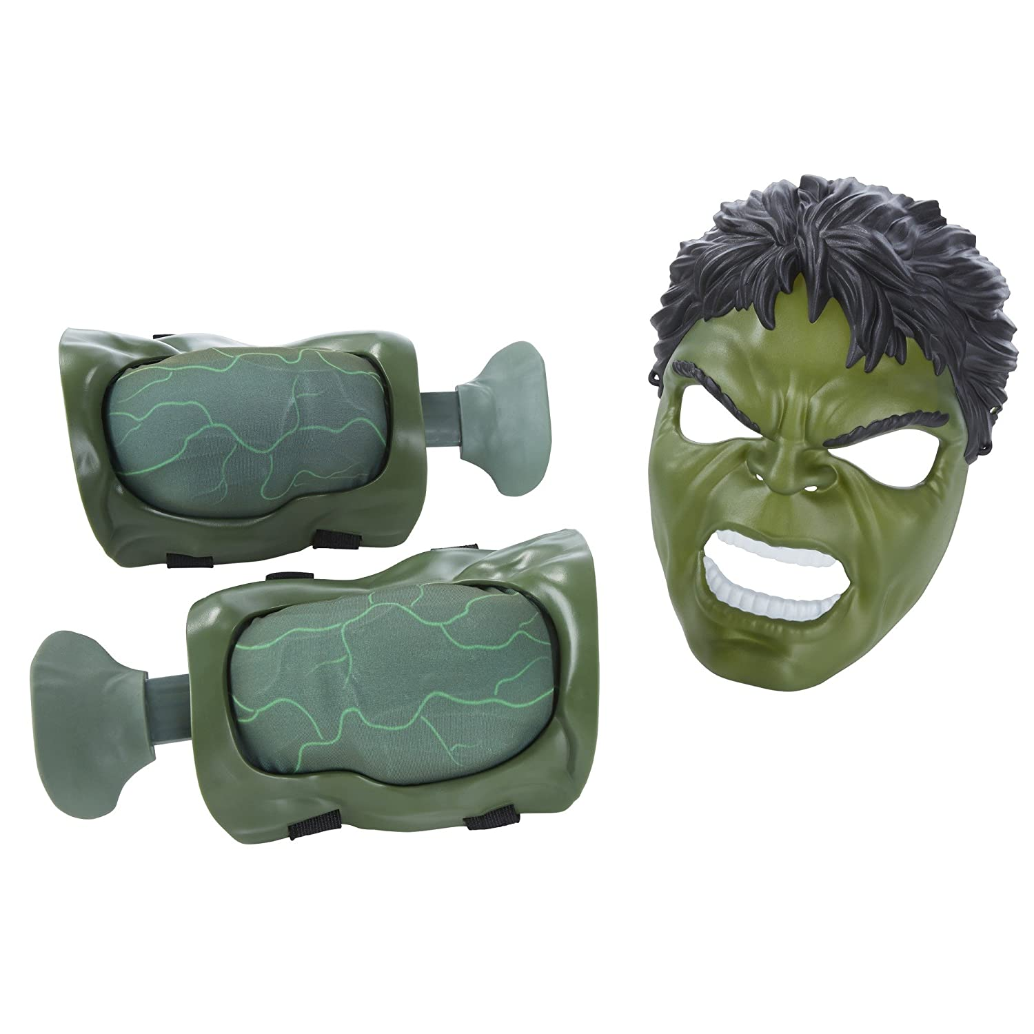 Amazon.com: Marvel Avengers Age Of Ultron Hulk Muscles And Mask: Toys & Games