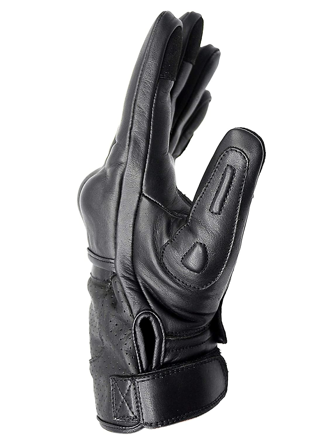 XX Large Hand Fellow Premium Leather Motorbike Motorcycle Gloves Touch Screen Gloves with Knuckle Protection Racing gloves Riding Gloves