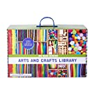 Kid Made Modern New Arts and Crafts Library Set - Kid Crafting Supplies, Art Projects in a Box