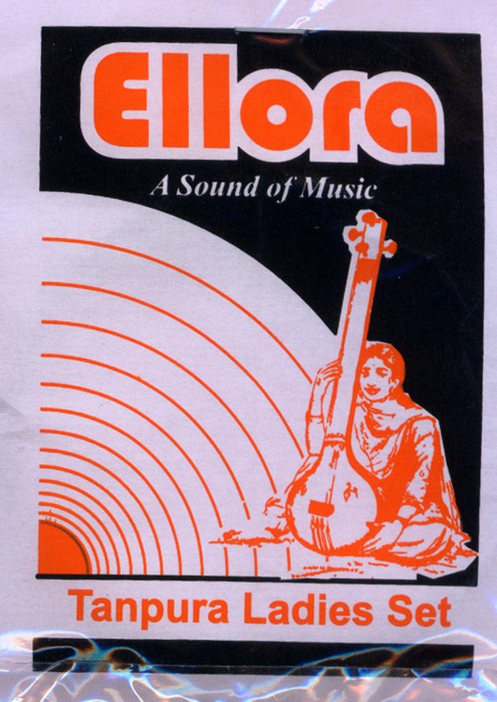 Tanpura Strings, Female, Ellora Professional, Complete set of strings