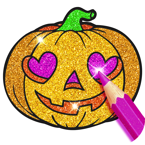Barbie Halloween Cooking Games (Rainbow Glitter Coloring Book - Halloween Spooky)