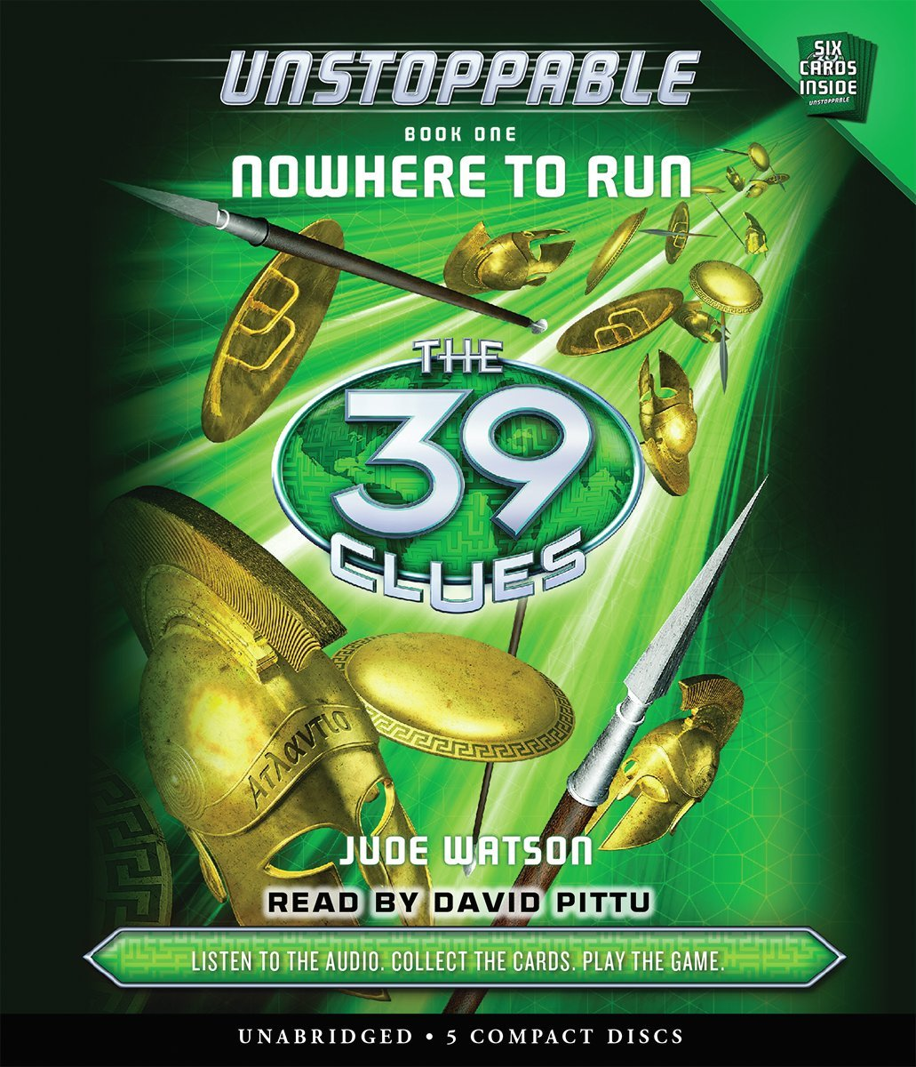 The 39 Clues: Unstoppable Book 1: Nowhere to Run - Audio by Scholastic Audio Books (Image #1)