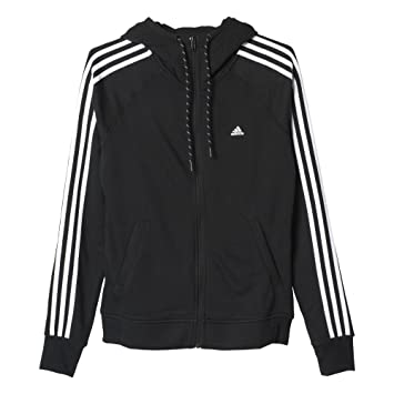 adidas Herren Essentials 3 Streifen Full Zip Hoodie: Amazon