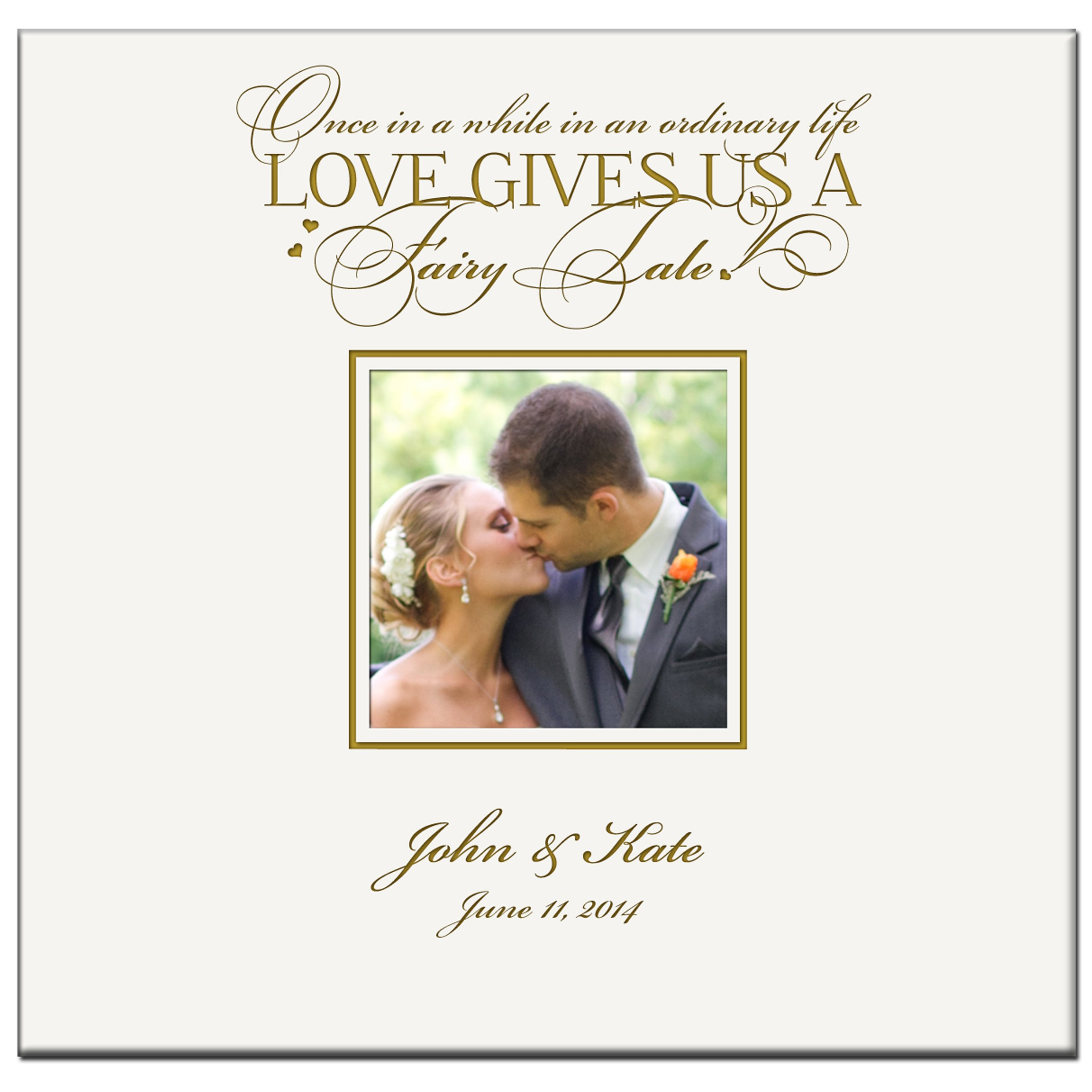 Personalized Mr & Mrs Wedding Anniversary Gifts Photo Album Custom Engraved Once in a While in an Ordinary Life Loves Gives You a Fairy Tale to Me Holds 200 4x6 Photos Wedding Gift Ideas