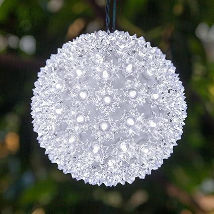 wintergreen lighting led starlight sphere led light ball sphere light christmas light ball - Starlight Sphere Outdoor Christmas Decoration