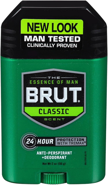 Brut Anti-transpirant et déodorant pour homme - 24 heures de protection avec Trimax