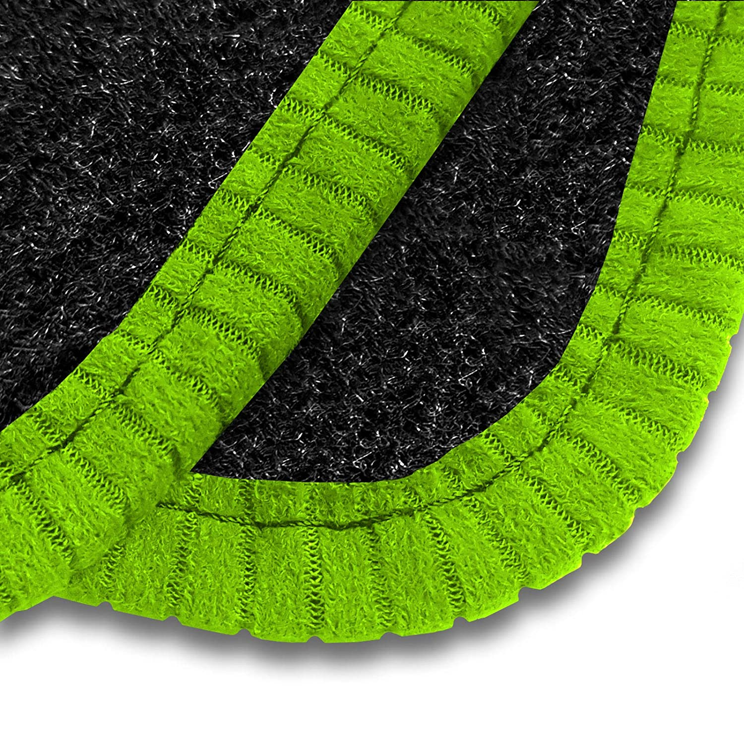 Car Mats To Fit i10 2014+ Anthracite Tailored Car Mats /& Black Trim /& Black Double Ultra Thick Full Width Heel Pad