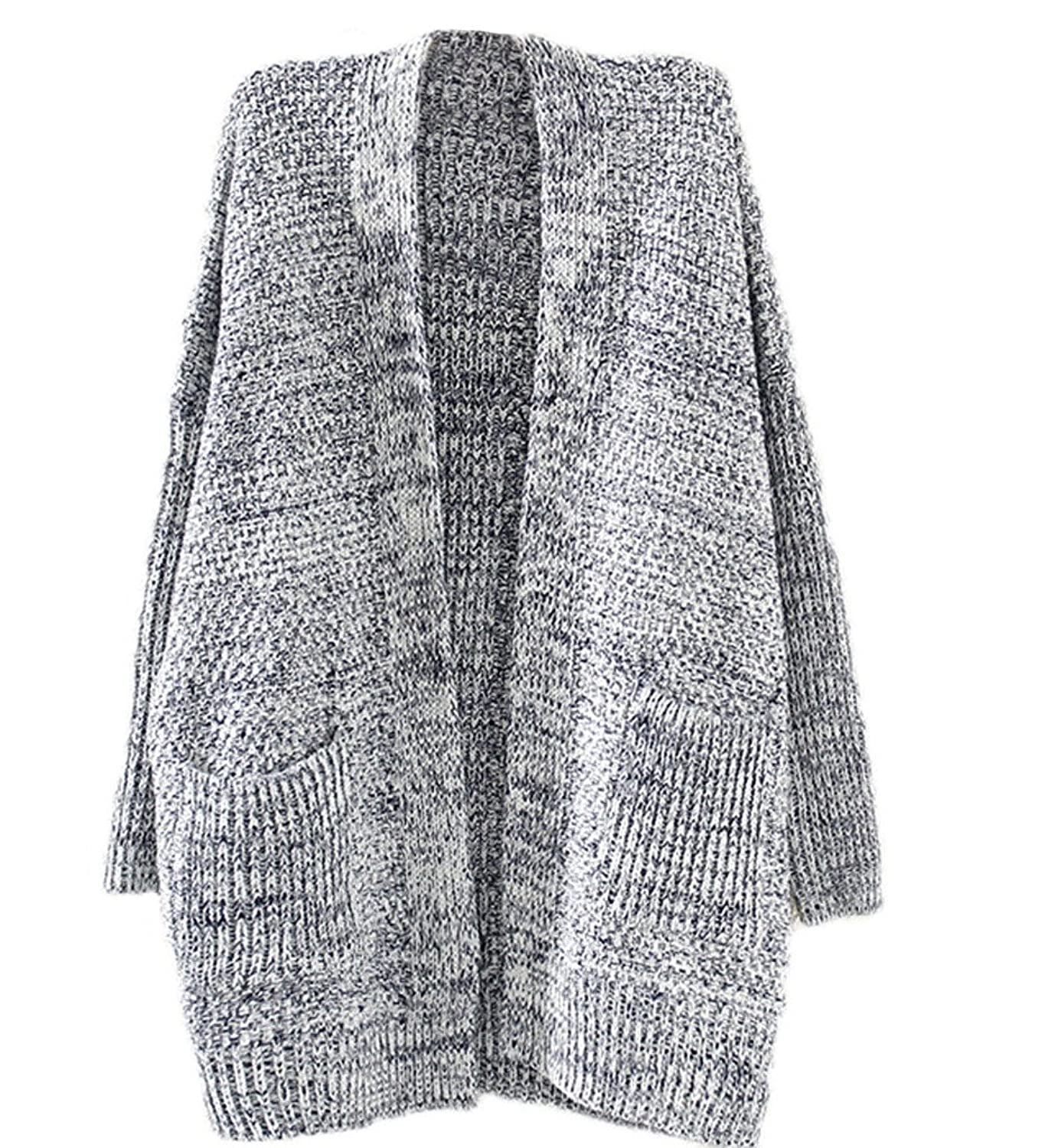 Arrowhunt Oversize Lose Strickjacke Knit Strickjacke